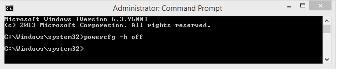 Power Config Command Prompt